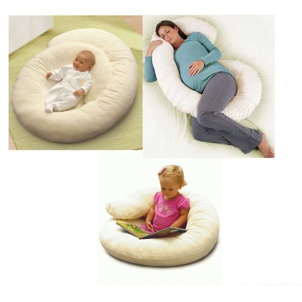 какая форма подушки для беременных удобнее и лучше