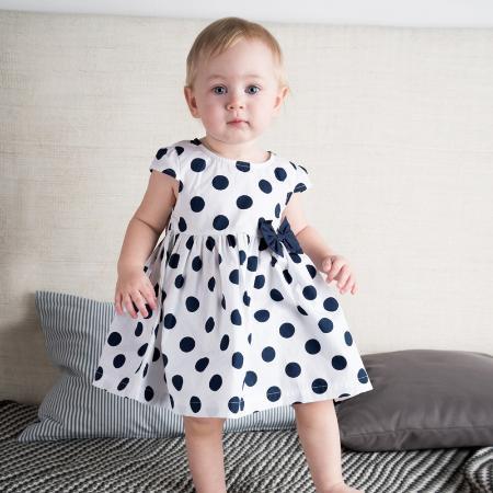 детские вязаные платья крючком на 1 годик