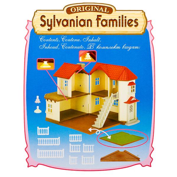 Большой дом со светом Sylvanian Families Детский мир
