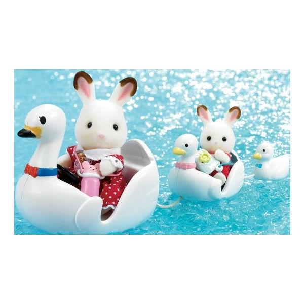 Лодка-лебедь Sylvanian Families Детский мир 449.000