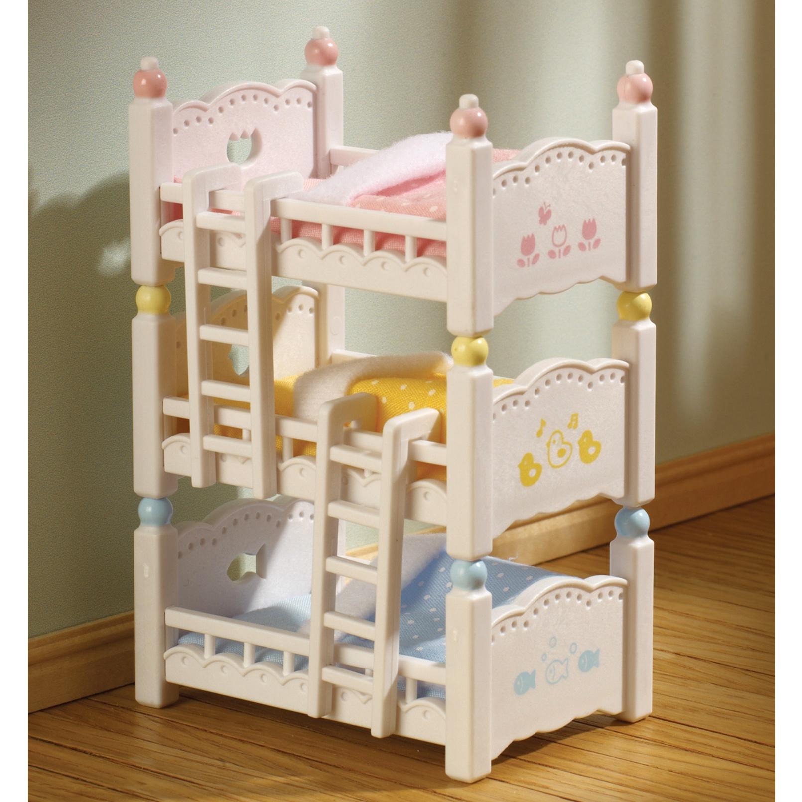 Трехъярусная кровать Sylvanian Families