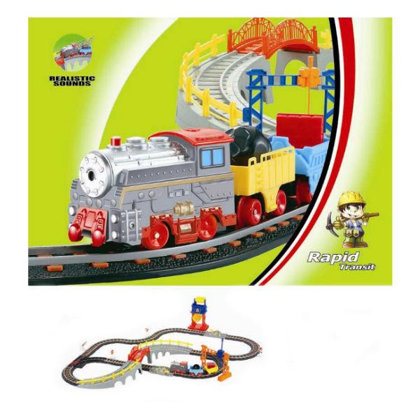Железнодорожный набор Веселое путешествие Детский мир 1199.000