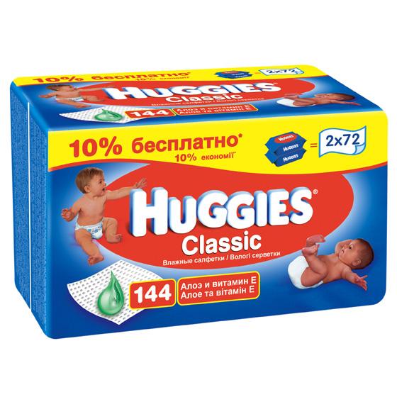 Салфетки влажные Huggies Детский мир 179.000