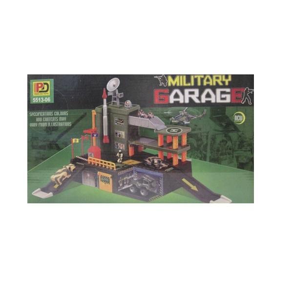 Военный гараж Mobicaro Детский мир 399.000