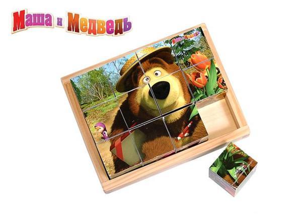 Кубики Маша и Медведь Детский мир 249.000