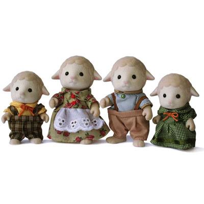 Семья овечек Sylvanian Families Детский мир 949.000