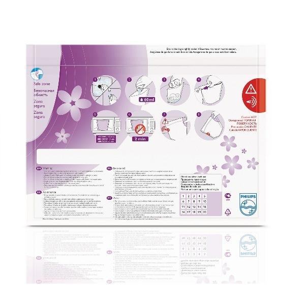 Пакеты для стерилизации в микроволновой печи Philips AVENT Детский мир 589.000
