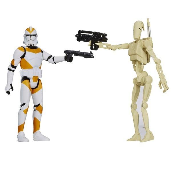Фигурки Star Wars для особых миссий Hasbro А5232/A5228 Солдат 212-го батальона