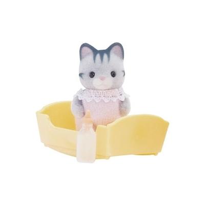 Малыш серый котенок Sylvanian Families Детский мир 249.000