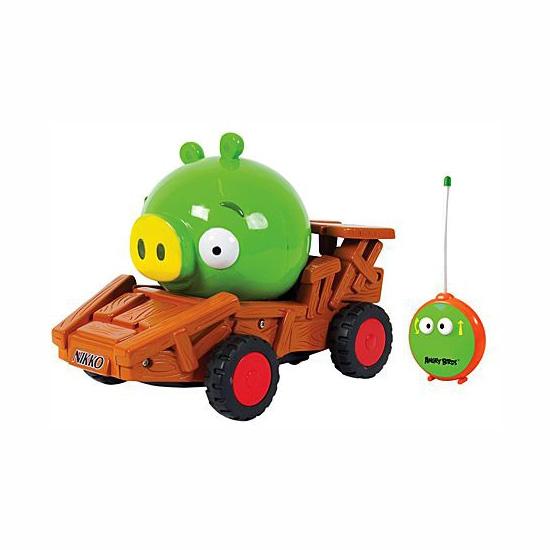 Машинка р/у Angry Birds Green Pig