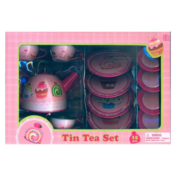 Жестяной чайный набор Shun Feng Lobg Детский мир 699.000