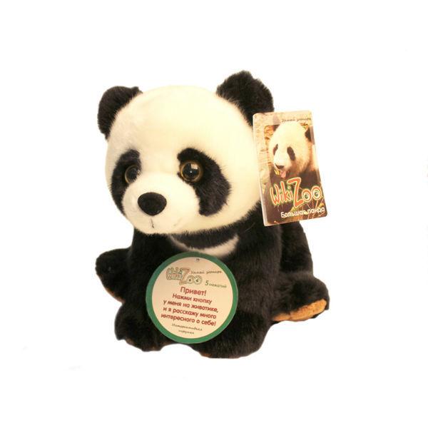 Панда с обучающим чипом WikiZoo Детский мир 699.000