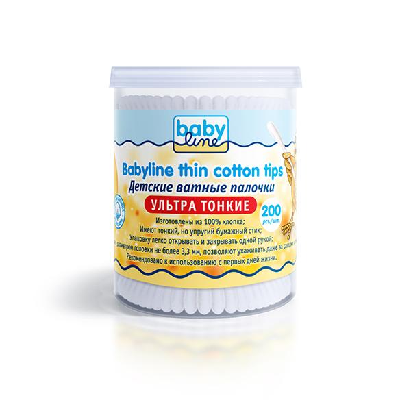 Детские ватные палочки Babyline Детский мир 85.000
