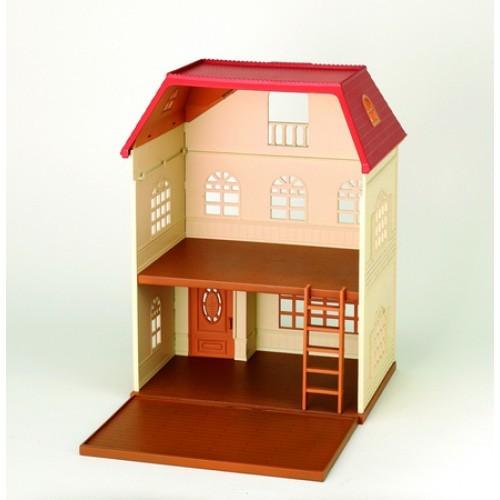 Трехэтажный дом Sylvanian Families