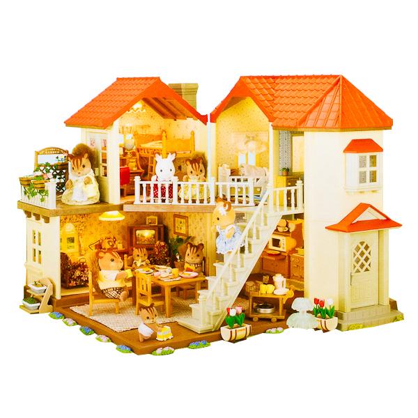 Большой дом со светом Sylvanian Families