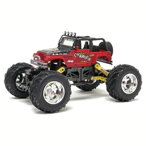 Внедорожник р/у Jeep Wrangler Rock Crawler 1:18 в асс.