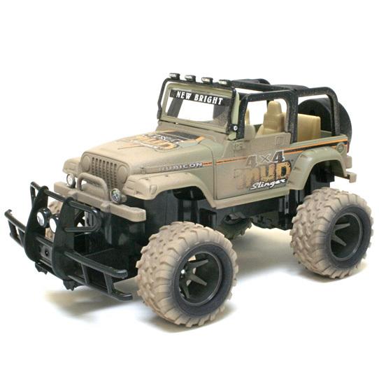 Внедорожник р/у Jeep Wrangler Mud Slinger 1:15 серый