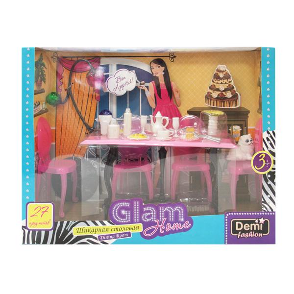 Праздничный стол для куклы Demi Fashion Детский мир 599.000