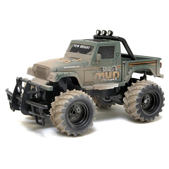 Внедорожник р/у Mud Slinger Jeep Scrambler Pickup 1:14