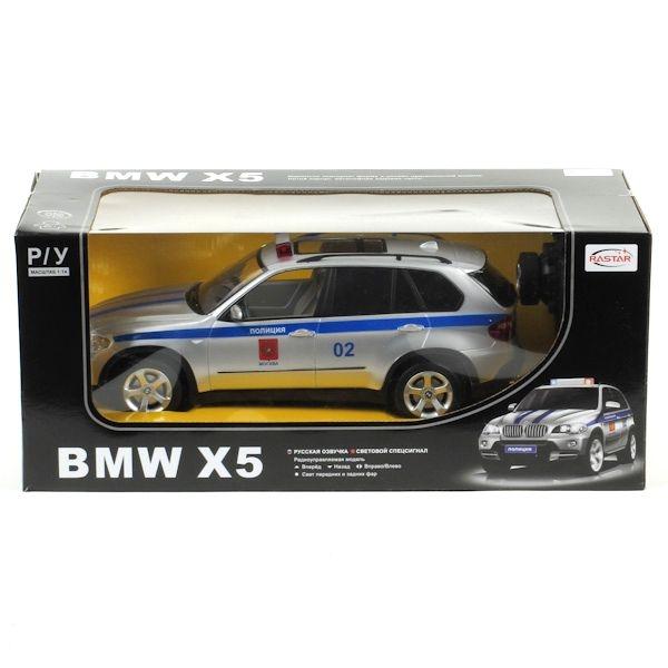 Машина р/у BMW X5 1:14 Полиция