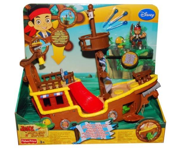 Пиратский Корабль Бакки Fisher Price Детский мир 4199.000