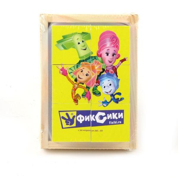 Набор из шести кубиков Играем вместе Детский мир 249.000