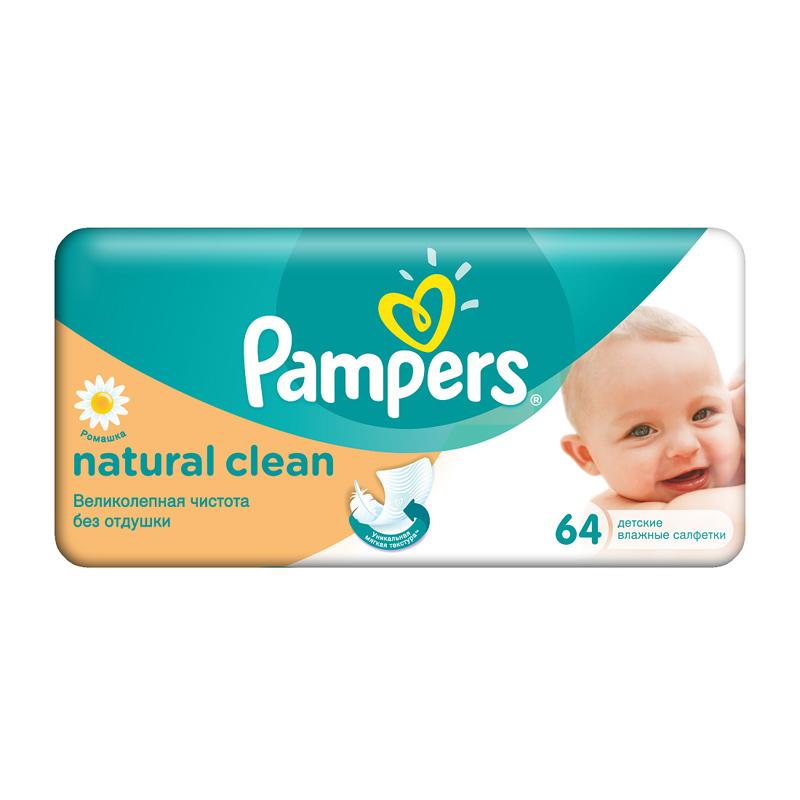 Детские влажные салфетки Pampers Детский мир 89.000