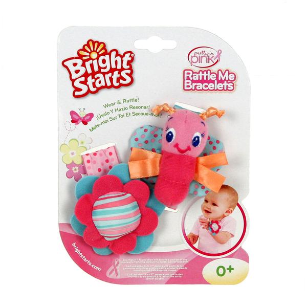 Погремушки мягкие на ручку Bright Starts Детский мир 339.000