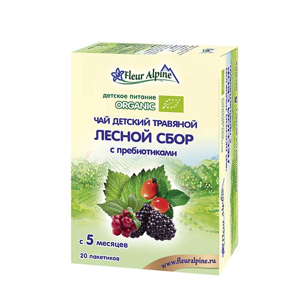 Чай детский травяной Fleur Alpine Детский мир 220.000