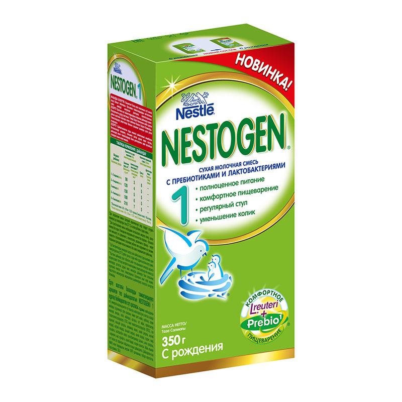 Сухая молочная смесь Nestogen 1 (c рождения) 350 г