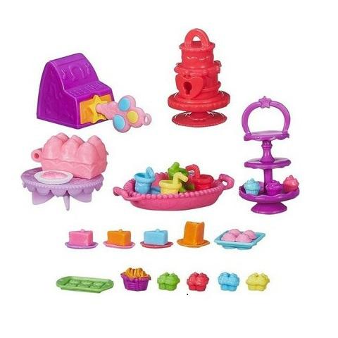набор мини игрушек: