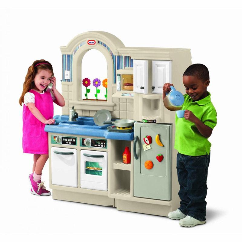 Кухня двусторонняя Little Tikes Детский мир 13600.000