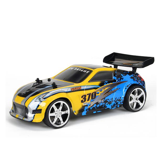 Спортивная Машина Nissan 370Z  1:12  Синяя-желтая