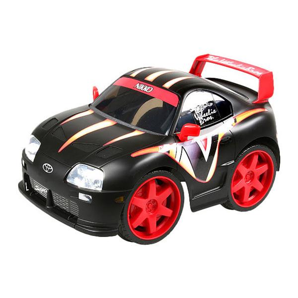 Машина р/у Toyota Supra 1:15 черная